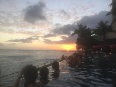 初めてのハワイ旅行♪親娘2人旅!1日目♪