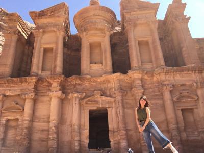 中東で物語のような体験をした女子一人旅 □ ヨルダン #2 ペトラ遺跡