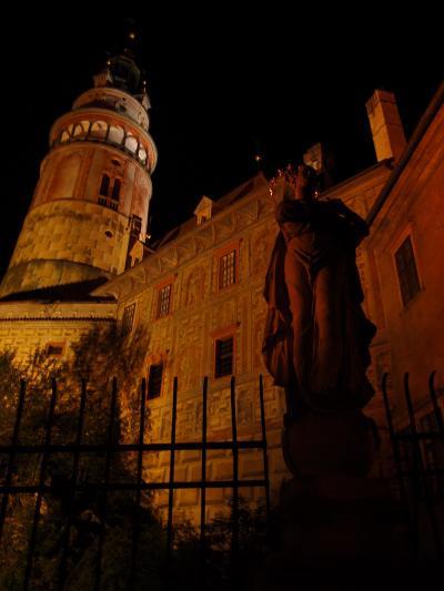 2016ヨーロッパ三カ国の旅その7★三日目3チェスキークロムロフでチェコビールと夜景散歩