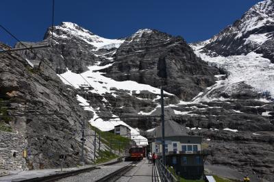 スイス・イタリア旅行2016 (6) アイガーグレッチャー⇒クライネシャイデック:ハイキング