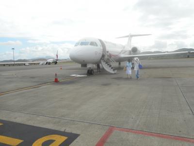 格安ツアー ニューギニア航空で行くケアンズ 4日間(2日目その①ポートモレスビーで乗り継いだ♪)