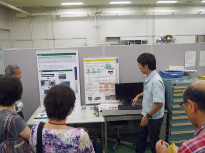 9/7、先端最新技術を見てみよう  「あいち産業科学技術総合センター 産業技術センターを見学しました」