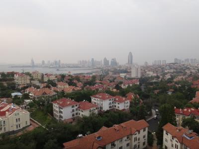 現地駐在員の青島出張と市内視察~香港花園、小魚山、青島駅、天主教堂~