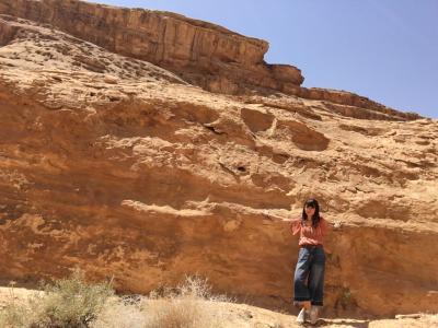 中東で物語のような体験をした女子一人旅 □ヨルダン #3 ワディラム