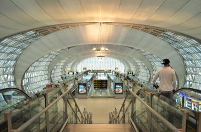 タイ実家訪問とミャンマーの旅 Part 15 - JAL バンコク→成田