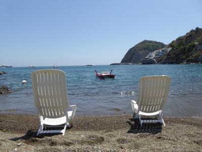 夏の優雅な南イタリア周遊旅行♪ Vol405(第21日) ☆Isola d'Ischia/S.Angelo:「Hotel Miramare Sea Resort」の「Parco Termae」優雅な温泉バカンス♪イタリアの海を優雅に泳ぐ♪