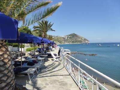 夏の優雅な南イタリア周遊旅行♪ Vol406(第21日) ☆Isola d'Ischia/S.Angelo:「Hotel Miramare Sea Resort」の「Parco Termae」優雅な温泉バカンス♪さようならイスキア島の温泉♪