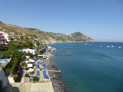 夏の優雅な南イタリア周遊旅行♪ Vol407(第21日) ☆Isola d'Ischia/S.Angelo:「Parco Termae」から「Hotel Miramare Sea Resort」へ名残惜しむようにゆったりと歩く♪
