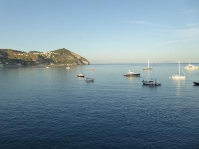 夏の優雅な南イタリア周遊旅行♪ Vol411(第21日) ☆Isola d'Ischia/S.Angelo:「Hotel Miramare Sea Resort」ジュニアスイートルームで黄昏のくつろぎ♪