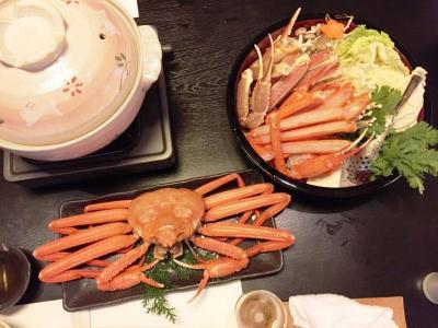 柴山_Shibayama  「柴山ガニ」に「香住ガニ」!カニ料理専門の民宿で蟹三昧