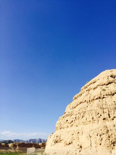 青い空と羊肉(寧西回族自治区銀川)