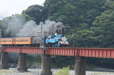 ☆子連れでおでかけ☆大井川鉄道でトーマス アゲイン