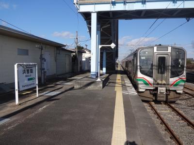 仙台市営地下鉄東西線と常磐線被災地域【その2】 常磐線を南下し浜吉田まで