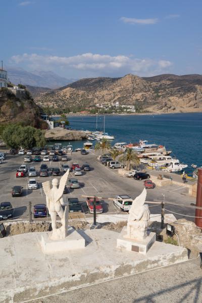 【約3週間のクレタ島でのバカンス】昔ギリシャのイカロスが飛び立った伝説の地、南海岸のアギア・ガリーニへ