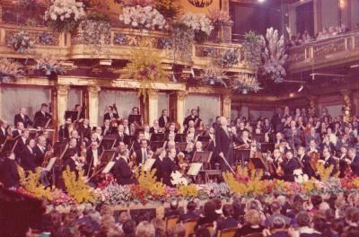 ウィーン・フィルのニュー・イヤー・コンサートを見る(1975年元旦)