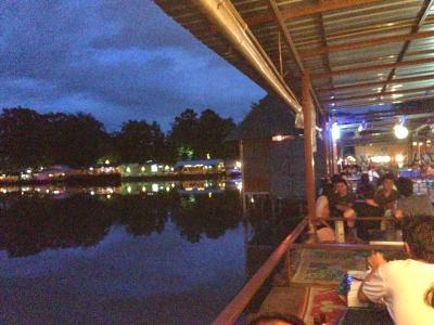 2014年 タイ旅行 ちょっとだけチェンマイ 湖上居酒屋編