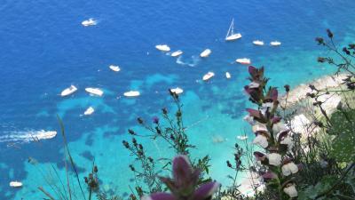 とっておきの場所を見つける旅 南イタリア旅行 景色は最高カプリ編