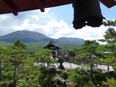 夏の優雅な浅間高原バカンス♪ Vol22 ☆嬬恋村:夏の美しい「鬼押出園」 浅間山観音堂から眺めて♪