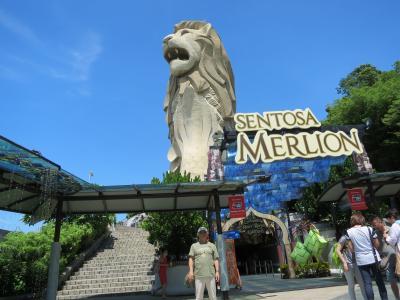 社員旅行でシンガポールへ (7) 一日フリータイムで、セントーサ島へ・・・