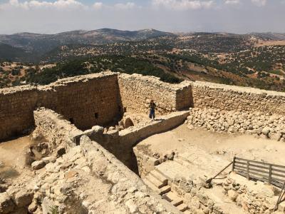 中東で物語のような体験をした女子一人旅 □ ヨルダン#8 アジュルン. ジェラッシュ. イルビッド