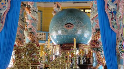 那覇発JAL海外DPビジネスで行く初めてのベトナム・ホーチミン 第一章は初めて見る宗教とトンネル