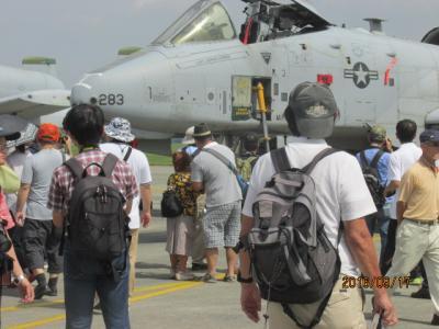 横田米軍航空祭(3)米軍航空機。