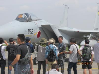 横田米軍航空祭(4)空自戦闘機。