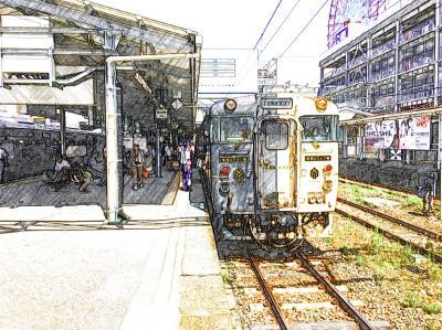 2016年 9月 楽しい列車の旅「指宿のたまて箱(鹿児島中央11:40発→指宿14:06着)」