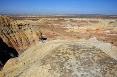2013年中国新疆放浪記092・烏魯木齊北部の五彩湾風景区へ!