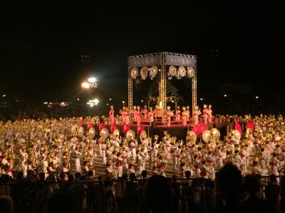 ★初めての山鹿灯籠祭り