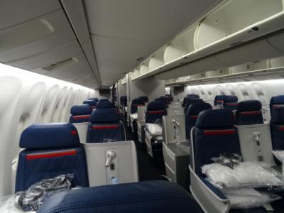 デルタ航空 ビジネスクラスでラスベガス 10回目