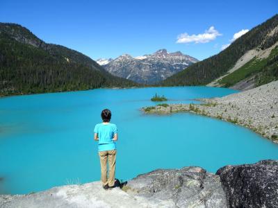 カナダ ウィスラー ハイキング 2016夏:全体像