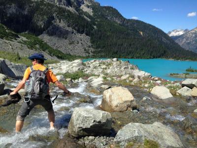 カナダ ウィスラー ハイキング 2016夏:08/15::絶景が続くジョフレレイクトレイル