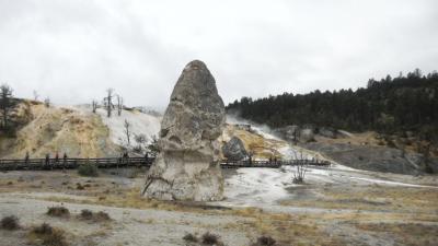 還暦夫婦カナダアメリカ周遊27日間 イエローストーンで山火事 中国語ミステリーツアー
