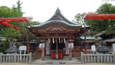豊中市 住吉神社の参拝。