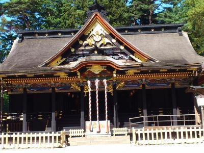 仙台(大崎八幡宮や地底の森ミュージアムなど)
