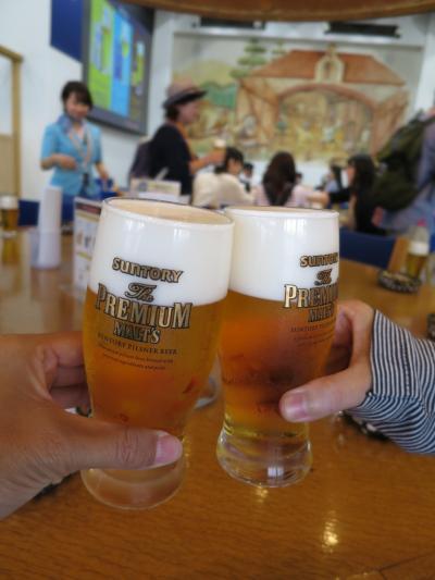 お初にお目にかかります  サントリービール工場編