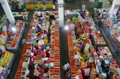 2014年6月 南から北からキタを見る その5 市場見学し帰国