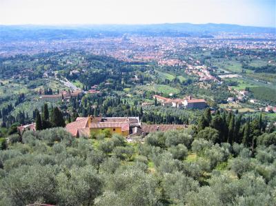 フィエーゾレの丘からフィレンツェを眺める(2007年)再編集