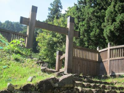 八王子城跡 と 武蔵陵墓地 へGO!