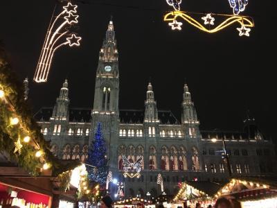 ウィーンの12月はトップシーズン クリスマス・マーケット