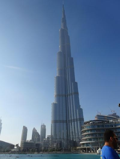 (36)2016年年末年始アラビア半島5か国の旅9日間(5)UAE(ドバイ)ドバイ・モール バージュ・ハリファ スーク・アル・バハール