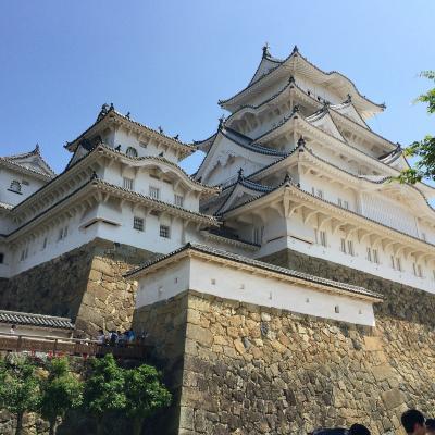 こんな暑い夏に関西方面の世界遺産を巡る旅☆2日目姫路城・神戸・大阪☆