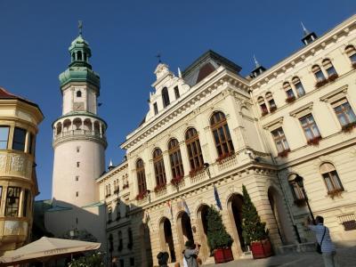 ハンガリー・スロバキア・チェコ周遊10日間-5 午後ショプロン