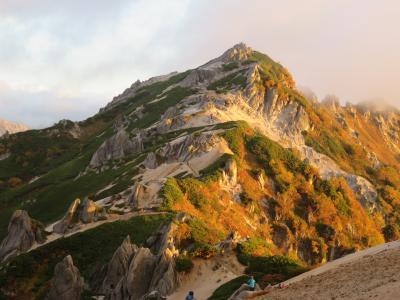 アルプスの女王 燕岳登山と燕山荘 その2 2016年9月