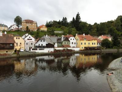 ハンガリー・スロバキア・チェコ周遊10日間-12 6日目午後チェスキークルムロフ