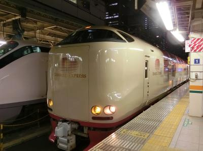 香川・徳島・岡山県へ欲張り旅 ☆ 1日目サンライズ瀬戸に乗りたくて
