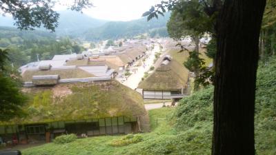 南東北ベストハイライトツアー 6(磐梯温泉→大内宿)