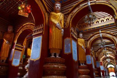 テーラワーダ仏教が色濃く残るミャンマーで過ごす8日間 in Mandalay★2016 08 6日目【MDL⇔モンユワ】