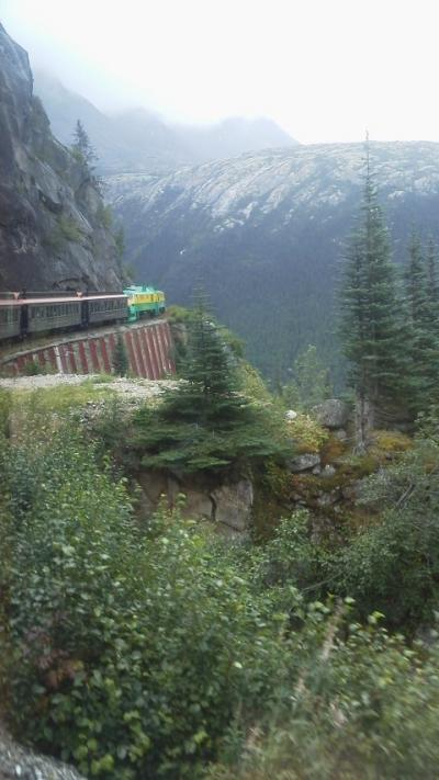 カナダドライブ旅行(その6) ホワイトホース⇔スカグウェイ「アラスカ」(鉄道&バスツアー)